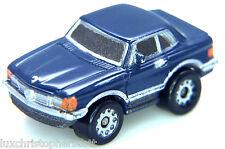 Micro Machines  MERCEDES 450SLC CAR - BLUE  - Galoob