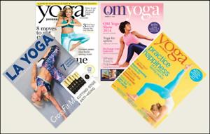 4 Mini /'YOGA/' Magazines Barbie Blythe Fashion Doll size 1:6 playscale