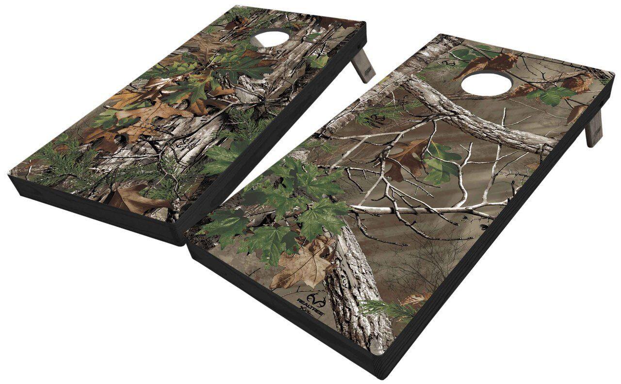 Realtree EXTRA GREEN Full Camo Cornhole Boards