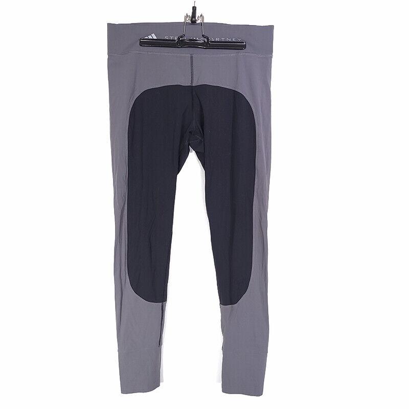Stella McCartney Adidas Seamless Stirrup Leggings Gray Black Women's Large