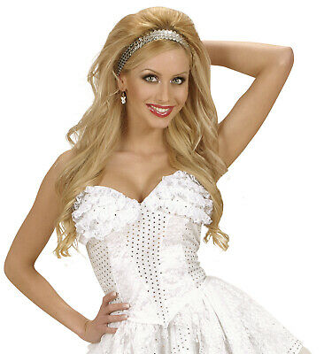 white lace corset moulin rouge fancy dress costume outfit