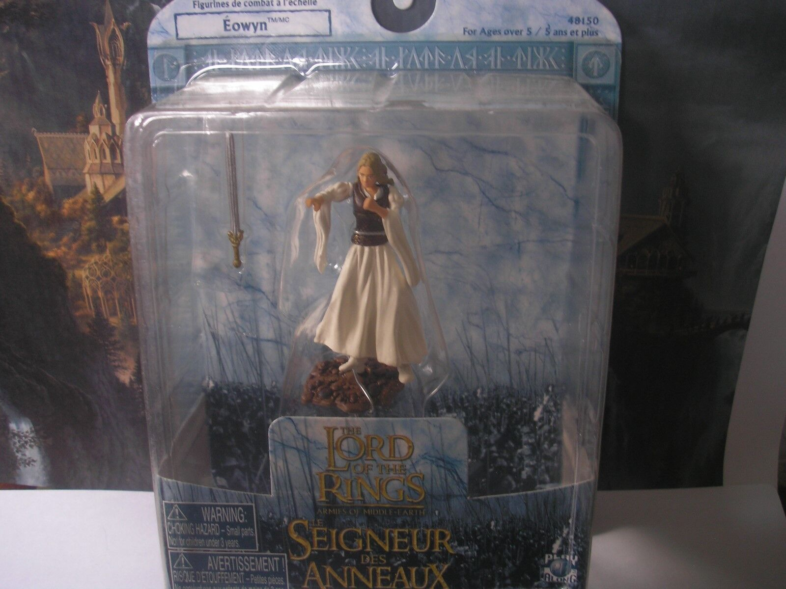LOTR ARMIES OF MIDDLE EARTH ULTRA RARE SINGLE BOXED EOWYN