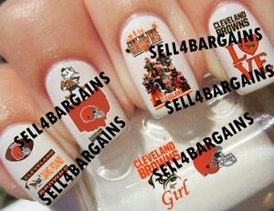 Nfl Cleveland Browns Football Team Logos10 Different Designsnail