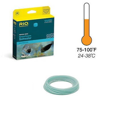 NEW RIO PRODUCTS GENERAL PURPOSE TROPICAL FLY LINE WF9I//I fly fishing saltwater