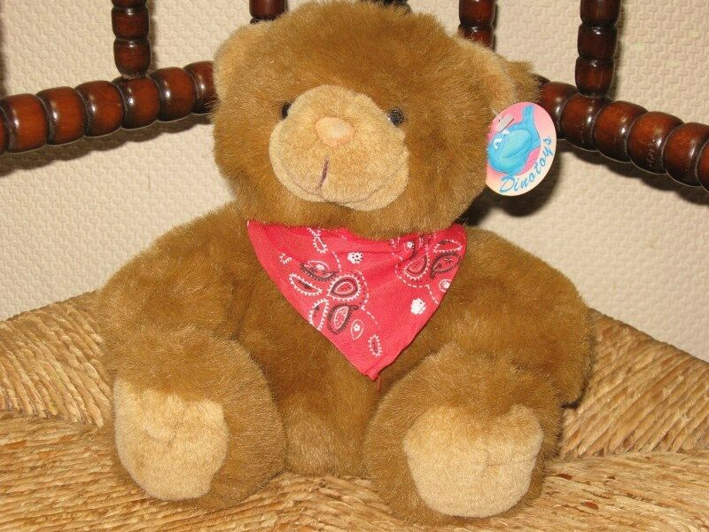Dinotoys Holland Cute Sitting Braun Teddy Bear
