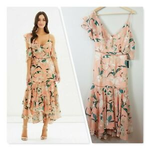 [ COOPER ST ] Womens A place in the Sun Flounce Dress NEW    Size AU 8 or US 4