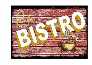 Image Is Loading Cafe Sign Vintage Style Cafe Sign Shop Sign