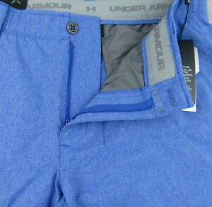 Under Armour Mens 36 30 34 32 Match Play Vented Blue Golf