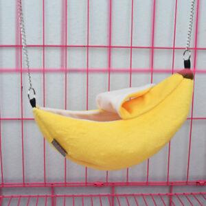 image is loading banana hamster bed house hammock warm squirrel hedgehog  banana hamster bed house hammock warm squirrel hedgehog guinea pig      rh   ebay