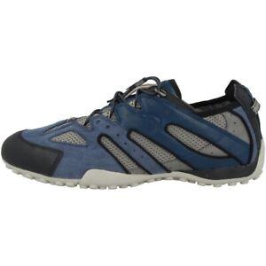 Details zu GEOX U Snake J Schuhe Herren Sneaker Halbschuhe Schnürer blue U4207J02214C0024