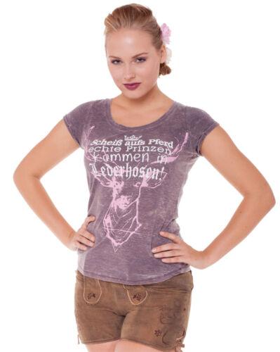 T-Shirt Anja Gr.XS-XXL Trachtenshirt Damen Trachten Shirt Oktoberfest Marjo