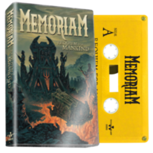 MEMORIAM-Requiem-For-Mankind-Yellow-Cassette-limited-release-OF-100