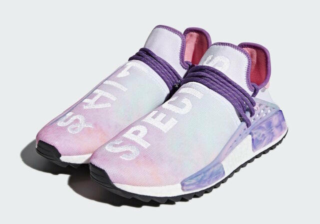 buy popular ebecf c5956 Adidas Pharrell Williams Human Race Holi NMD MC Pink Glow Flash Green AC7362
