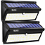 BAXiA-Solar-Lights-Outdoor-100-LED-Upgraded-2000LM-Super-Bright-Solar-Security thumbnail 1