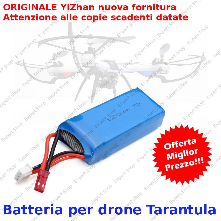 BATTERIA PER YiZhan Tarantula X6 2.4G 4CH RC QUADRICOTTERO DRONE ORIGINALE