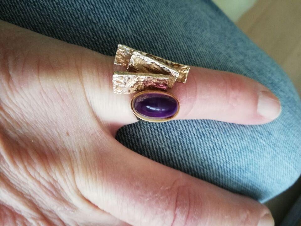 Fingerring, guld, OLE LYNGGÅRD