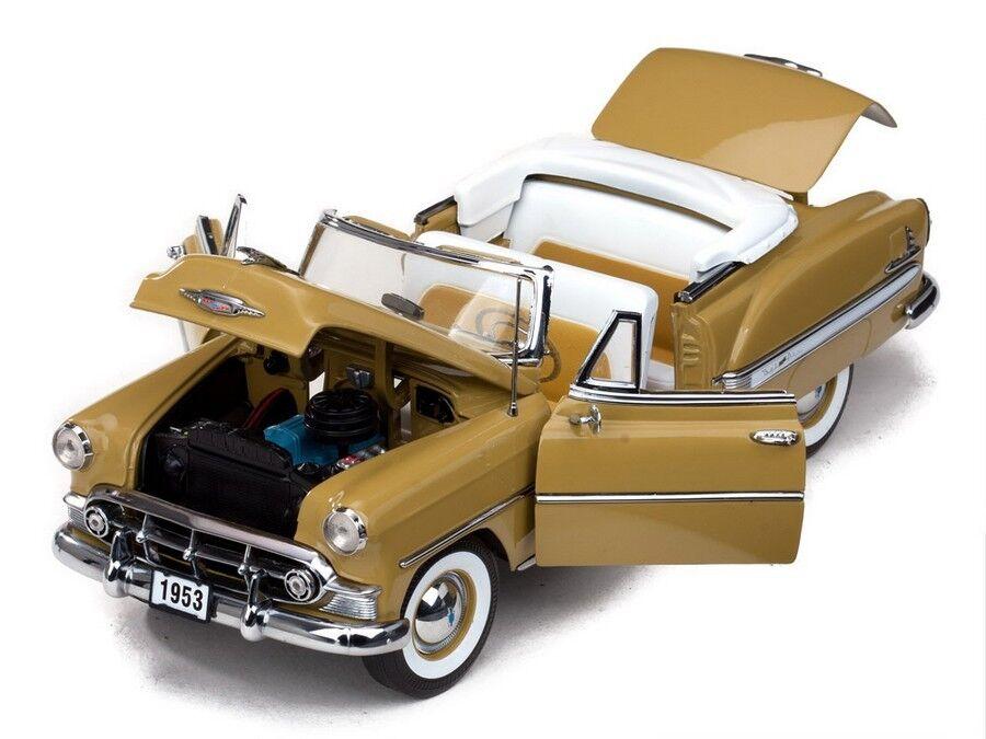 1953 Chevrolet Belair convertible SUN oro 1:18 SunStar 1622