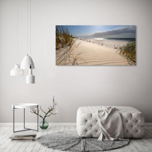 Glas-Bild Wandbilder Druck auf Glas 120x60 Deko Landschaften Ostsee Strand
