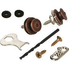 Loxx Strap Lock System for Acoustic Guitar/Bass - Antique Copper
