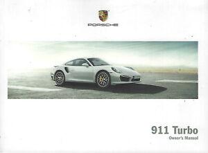 PORSCHE-911-TURBO-Typ-991-Owner-s-Manual-2014-Handbook-Handbuch-BA