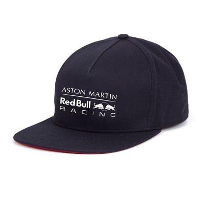 Aston Martin Red Bull Racing Team Flat Cap Snapback Gives You Wings Ebay