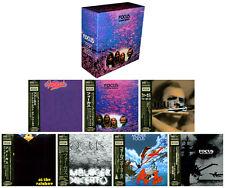 "FOCUS - ""Moving Waves"" PROMO BOX + 7 JAPAN MINI LP CDs"