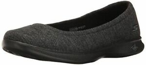 Skechers-Performance-Ladies-039-Go-Step-Lite-Flats-Black-GREY-Select-Size-NEW