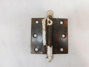 1900-039-s-Antique-DOOR-HINGES-3-1-2-034-x-3-1-2-034-CRAFTSMAN-Style-Copper-Black-ORNATE