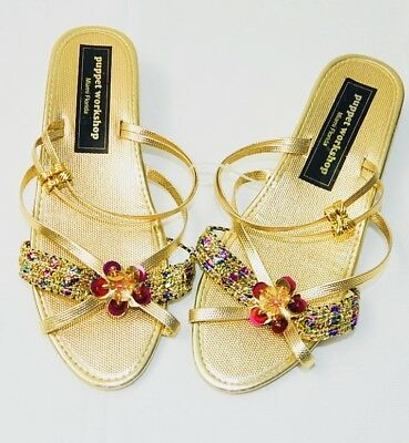 wholesale new lifestyle later GIRLS - WEDDING - DRESS UP - PARTY - GOLD HEEL SHOES Sz Toddler 7 ...