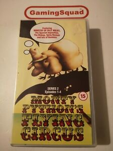 Monty-Python-Flying-Circus-Series-2-Ep-1-4-VHS-Video-Supplied-by-Gaming-Squad