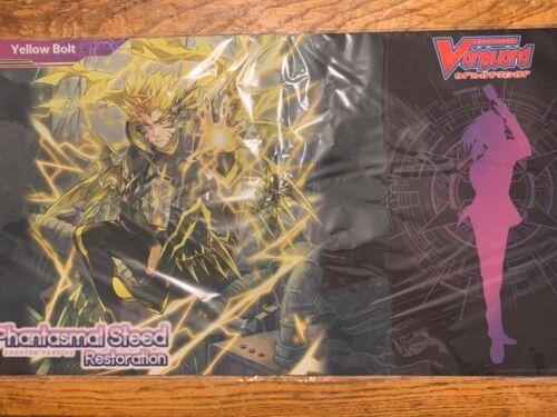 Yellow Bolt Playmat Phantasmal Steed Restoration Cardfight Vanguard