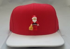 Image is loading Christmas-Santa-Hat-Holiday-Snapback-Adult-Hat-Streetwear- 80f81961705