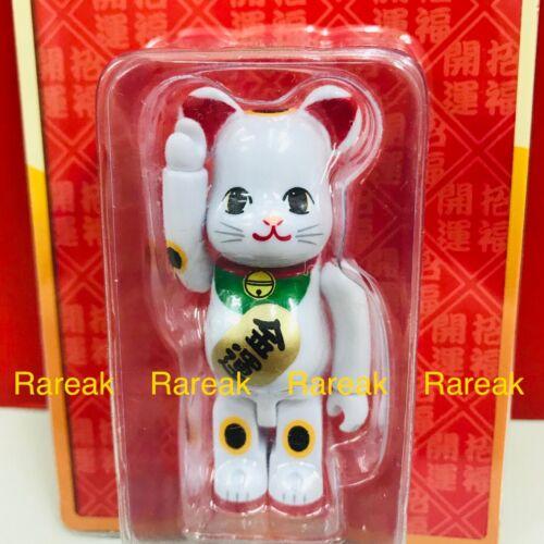 Medicom 2017 Bearbrick Skytree 100/% Flocky White Lucky Cat Neko bear@rbrick 1pc