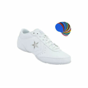 e8bc05ae000 NEW WOMEN S CONVERSE KICK TWIST OX CHEER SHOE 525066 WHITE SIZE 10.5 ...