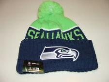 Seattle Seahawks Knit On Field New Era Toque Beanie Player Sideline Hat Cap NFL