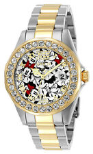 Invicta Women's Disney Quartz 3 Hand Black, Red, White Dial Watch 24418