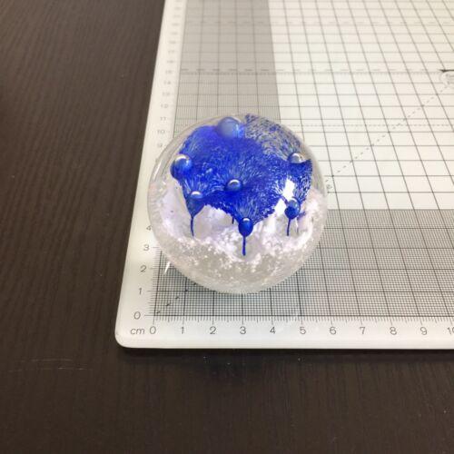 3 Stück Paperweight Briefbeschwerer Glaskugel