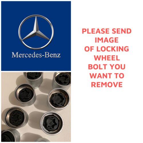 E Classe ENVOYER LA PHOTO 301-330 Mercedes Verrouillage Roue Boulon//écrou clé Remover-A C