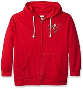 f250d475 Details about NWT NFL Tampa Bay Buccaneers Women's Plus Size 4X Full Zip  Fleece Hoodie