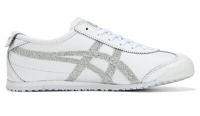 Details about Asics Onitsuka Tiger Mexico 66 White Silver Casual Shoes Sneakers 1182A129 100