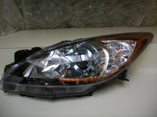 Mazda 3 Speed Hatchback 12 13 Headlight OEM Halogen LH Active Blue Projector
