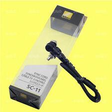 Genuine Nikon SC-11 Sync Cord (PC to PC) for AS-15 SB-910 SB-900 SB-800 SB-29