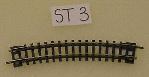 radius Peco Model Railways ST-3 No.1 Radius Standard Curve 228mm 9in