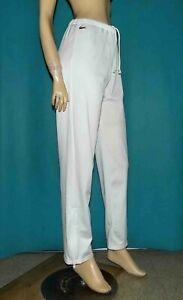 pantalon-jogging-blanc-LACOSTE-vintage-annee-80-taille-40-fr