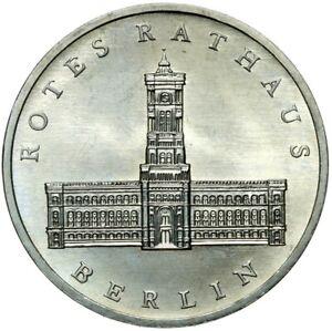 Gedenkmuenze-DDR-5-Mark-1987-A-Rotes-Rathaus-Berlin-Stempelglanz-UNC