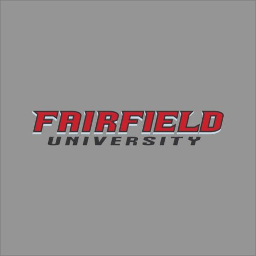 Fairfield Stags #8 NCAA College Vinyl Sticker Decal Car Window Wall