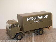 Daf 2000 Army Truck NEDDEFATDAF van Lion Car (Code 3 Model) 1:50 *20808