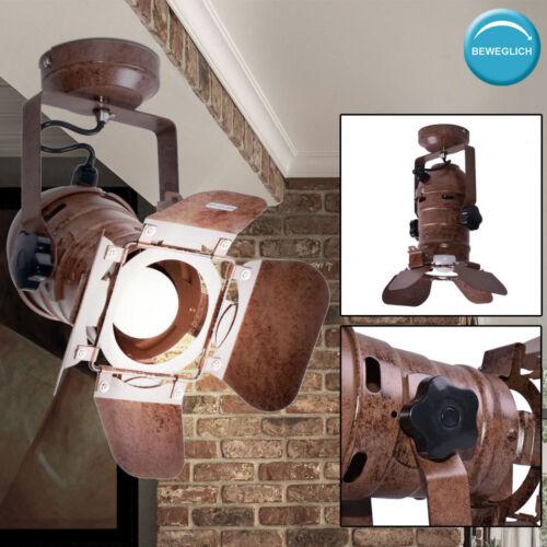 Retro Schein Werfer Tisch Leuchten Wand Strahler Decken Hänge Lampen beweglich