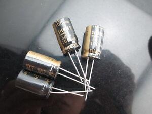 Japon 2PCS Elna RFS Silmic II 100uf 50 V soie AUDIO condensateur nouveau À faire soi-même HiFi