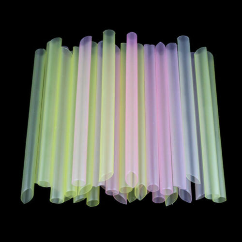 Bubble Boba Fat Dringking Straws Party Smoothies Jumbo Straw Thick Drink L8B7